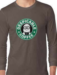 Despicable Coffee Long Sleeve T-Shirt