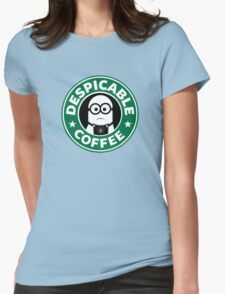 Despicable Coffee Womens Fitted T-Shirt