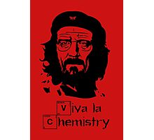 Viva la Chemistry - Walt Photographic Print
