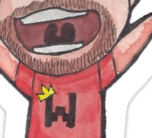 Excited Little Wade (LordMinion777)  Sticker
