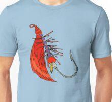 Fishing, Funny, vintage, retro, humour, parody, tshirt Unisex T-Shirt