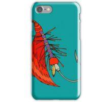 Fishing, Funny, vintage, retro, humour, parody, tshirt iPhone Case/Skin