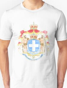 Greek Coat of Arms Greece Symbol Unisex T-Shirt