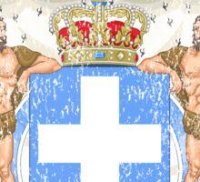 Greek Coat of Arms Greece Symbol Sticker