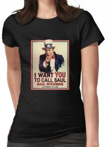 You Better Call Saul Womens Fitted T-Shirt