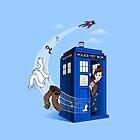 Superman's TARDIS (Iphonecase) by Bamboota