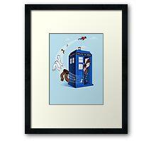 Superman's TARDIS (Iphonecase) Framed Print