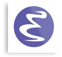 Emacs Linux Metal Print