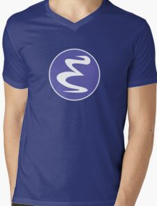 Emacs Linux Mens V-Neck T-Shirt