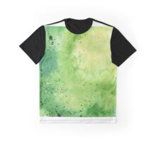 Watercolor Map of Colorado, USA in Green - Giclee Print My Own Watercolor Painting Graphic T-Shirt