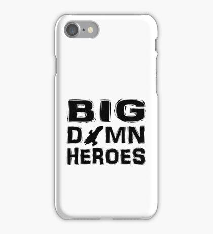 Firefly - Serenity - Big Damn Heroes iPhone Case/Skin