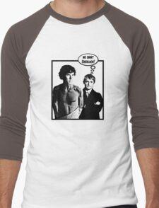 No Shirt Sherlock! Men's Baseball ¾ T-Shirt