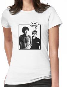 No Shirt Sherlock! Womens Fitted T-Shirt