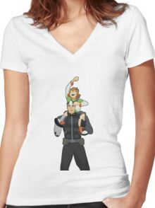 Watching the Fireworks - Shiro and Pidge Women's Fitted V-Neck T-Shirt
