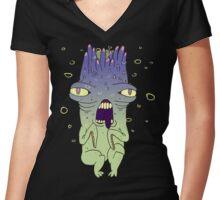 Nemesis Stool Women's Fitted V-Neck T-Shirt
