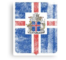 Icelanders Coat of Arms Iceland Symbol Canvas Print