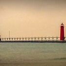 Grand Haven Lighthouse by Expressions &  Reflections by Shellie Hill