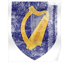 Irish Coat of Arms Ireland Symbol Poster