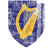 Irish Coat of Arms Ireland Symbol Photographic Print