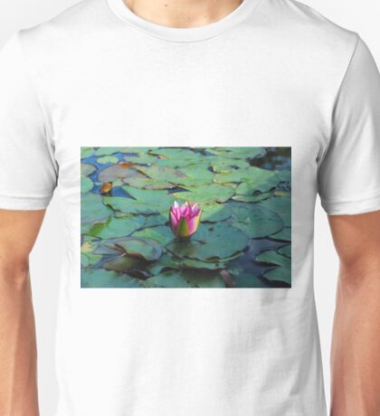 Water Lily Pond Unisex T-Shirt