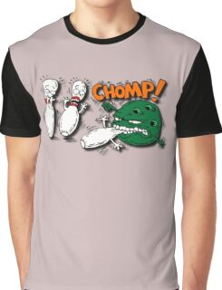 Monster Bowling Graphic T-Shirt