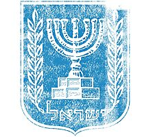 Israeli Coat of Arms Israel Symbol Photographic Print
