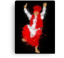 Bhangra Dancer Canvas Print