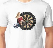Flying Dart Girl Unisex T-Shirt