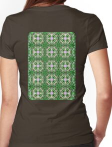 Marsh Compass on Rose Quarts Spheres Womens Fitted T-Shirt