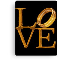 Love is Precious Canvas Print