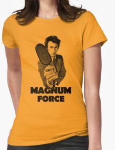 Dirty Harry Magnum Force Womens Fitted T-Shirt