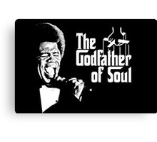 The Godfather of Soul - James Brown Canvas Print