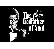The Godfather of Soul - James Brown Photographic Print