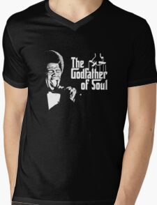 The Godfather of Soul - James Brown Mens V-Neck T-Shirt