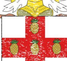 Jamaican Coat of Arms Jamaica Symbol Sticker