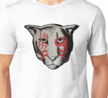War paint cougar Unisex T-Shirt