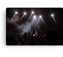 Paint The Night Canvas Print