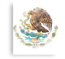 Mexican Coat of Arms Mexico Symbol Canvas Print