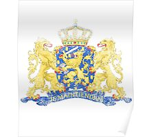Dutch Coat of Arms Netherlands Symbol Poster