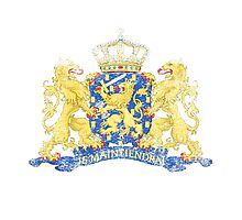 Dutch Coat of Arms Netherlands Symbol Photographic Print