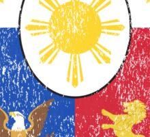 Filipino Coat of Arms Philippines Symbol Sticker