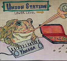 Toad Pandering in The Subway by KenHadad