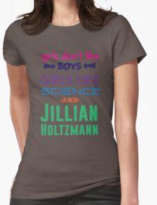 Girls Like Jillian Holtzmann - Multicolor Womens Fitted T-Shirt