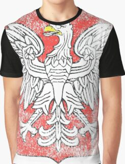 Polish Coat of Arms Poland Symbol Graphic T-Shirt