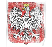 Polish Coat of Arms Poland Symbol Poster