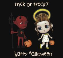 Devil or Angel Trick or Treat by 2HivelysArt