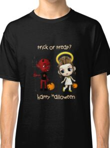 Devil or Angel Trick or Treat Classic T-Shirt