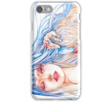 Just Another Burden - Fantasy Priestess Portrait iPhone Case/Skin