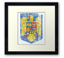 Romanian Coat of Arms Romania Symbol  Framed Print