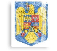 Romanian Coat of Arms Romania Symbol  Canvas Print